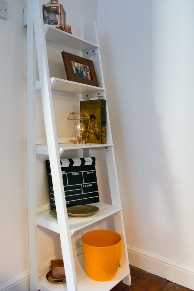 Ladder shelves from Dunelm