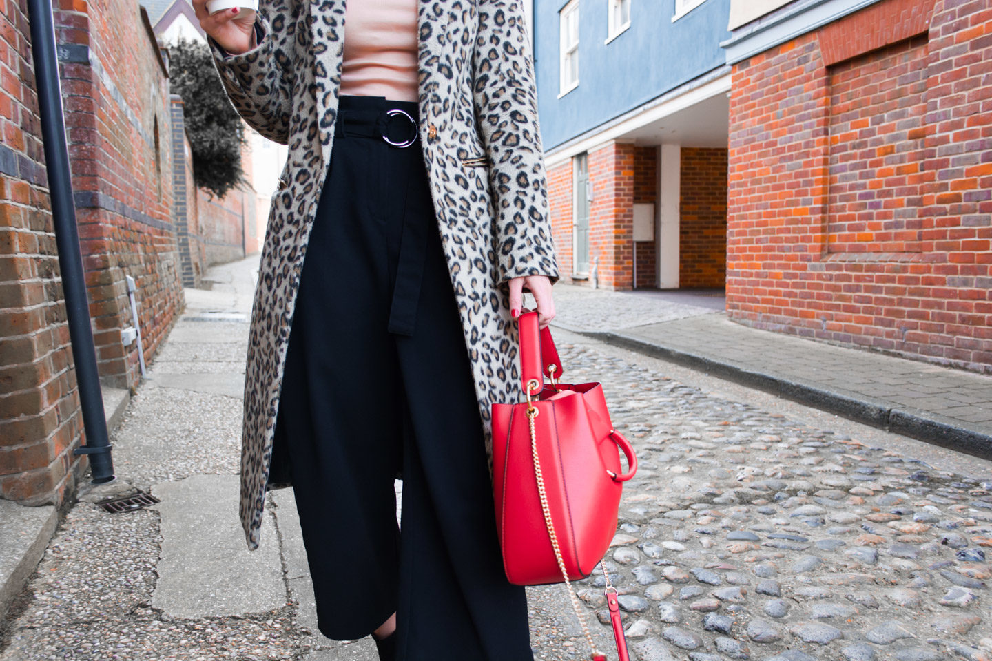 Black Culottes New Look